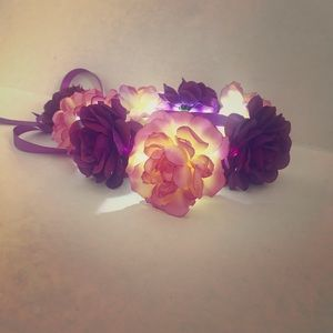 Accessories - Led flower crown